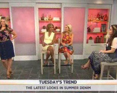 Kathie Lee & Hoda welcomed Bobbie Thomas as she gave some trendy denim looks for the summer, including trends in cutoffs, skirts and dresses