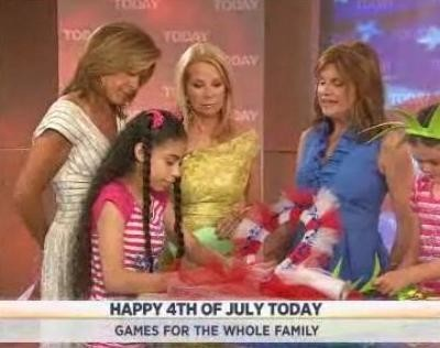 Deb Geigis Berry shared crafts that will have everybody having fun this 4th of July, including a Stately Wreath, Firecracker Hat and more.