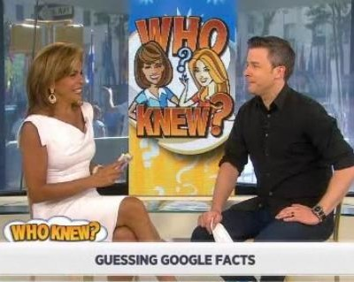 Kathie Lee & Hoda talked with David Sieberg about Google trivia, including the most popular celebrity, the most popular Youtube video & more