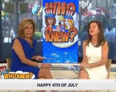 Kathie Lee & Hoda are joined by Cheryl Barnes, as they tested your American trivia knowledge, including George Washington, presidents & more.