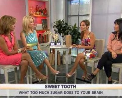 Joy Bauer & Ying Chu talked about what eating too much sugar can do to your brain, including slower reaction, & tips to reduce sugar intake.