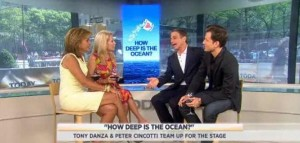 Kathie Lee & Hoda talked with Peter Cincotti and Tony Danza about their show, How Deep Is The Ocean?, working together, Peter's music & more