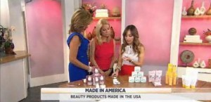 Lilliana Vasquez shared makeup & beauty products that are born & bred right here in the USA, including Lipmann Collection & Beauty Blender.
