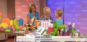 Kathie Lee & Hoda continued their Made In America series, with houseware products all made in the USA, including Liberty Table Top reviews.