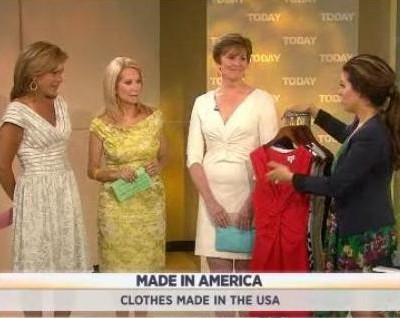 Kathie Lee & Hoda continued their Made In America series, as Bobbie Thomas shared clothes made in the USA including Sbicca Footwear reviews.