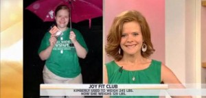 Kathie Lee and Hoda welcomed Kimberly Treusdell, the newest inductee into Joy Fit Club, and shared her weight loss diet results and much more