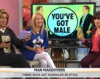Kathie Lee and Hoda are joined by Eve Michaels, image consultant and author of Dress Code, as she gave three makeovers to three lucky men.