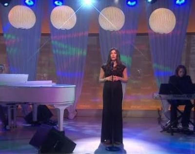 Jenny Powers performed the song You Do The Impossible, written by Kathie Lee & David Friedman for Molli Serrano, Everyone Has A Story winner