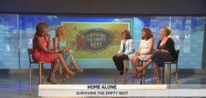 Carin Rubenstein, Karin Kasdin and Christine Mellor discussed advice for empty nesters and gave ways to help when your children all move out