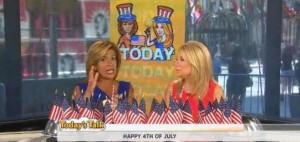 Kathie Lee & Hoda had The Scoop with topics from an American flag quiz, top summer myths debunked, top five wacky summer festivals & more.
