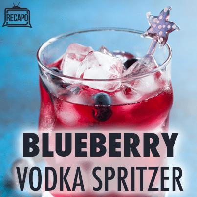 Maureen Petrosky: Blueberry Lavender Vodka Spritzer Recipe