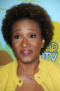 On October 1, 2014, comedian Wanda Sykes came by Ellen to talk about her stand-up tour and why she hates flying. (s_bukley / Shutterstock.com)