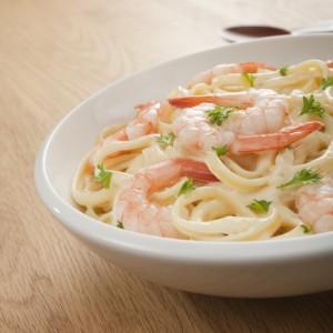 Dr Oz: Hungry Girl Shrimp Fettuccine Alfredo Recipe