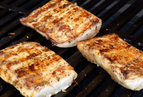 Live with kelly grilling with the stars chipotle mahi for How to cook mahi mahi fish
