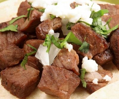 Rachael Ray: Brian Boitano Carne Asada Tacos Recipe + Artichoke Dip