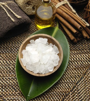 Sea Salt Cellulite Scrub Recipe: Dr Oz