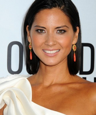 Olivia Munn will come by The Chew on January 14, 2015, to talk about her hit show The Newsroom. (admedia / Shutterstock.com)