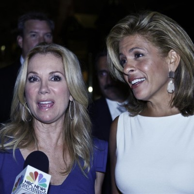 Kathie Lee Gifford and Hoda Kotb filled the July 9 2012 hour of The Today Show with a Piper Perabo interview, the newest inductee into the Joy Fit Club, Caloric Cuvee win glasses reviews, Ernest Borgnine dead at 95 and much more.