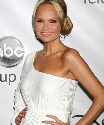 Kristen Chenoweth will come by The Chew on November 24, 2014, talking about her Broadway show Coming Home and helping lend a hand to Clinton Kelly. (Joe Seer / Shutterstock.com)