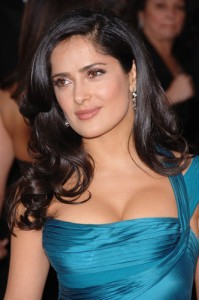 Live With Kelly July 5 2012: Salma Hayek
