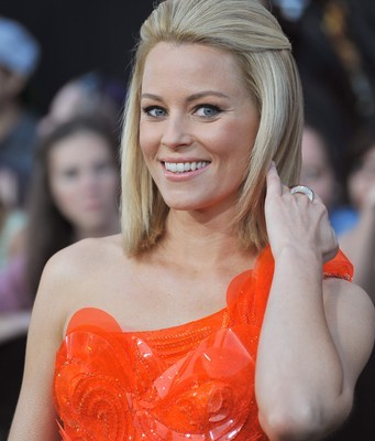 Elizabeth Banks will come by Ellen on November 17, 2014, to talk about her new film and one of the most hotly anticipated movies of the year, Hunger Games: Mockingjay Part 1. (Featureflash / Shutterstock.com)
