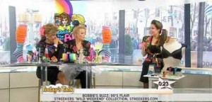 Kathie Lee & Hoda took us back to the '80s, including Shape FX's Shoulder Pad Bra and Hair Flairs Color Rub reviews.