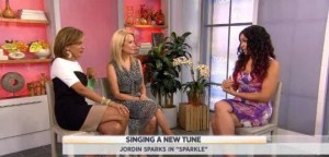Kathie Lee and Hoda welcomed Jordin Sparks to the studio to talk about her new movie Sparkle and starring with the late Whitney Houston.