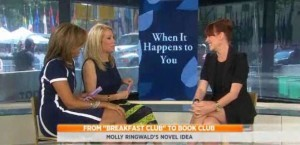 Kathie Lee & Hoda talked with Molly Ringwald, actress, mother and author of the new book, When It Happens To You, about her book & daughter.
