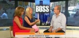 Kathie Lee and Hoda were joined by Kelsey Grammer as he discussed his show, Boss, the season two premiere, his new daughter and marriage.
