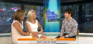 Kathie Lee & Hoda talked with Joe Jonas about his new reality singing competition show, The Next, & about a possible Jonas Brothers reunion