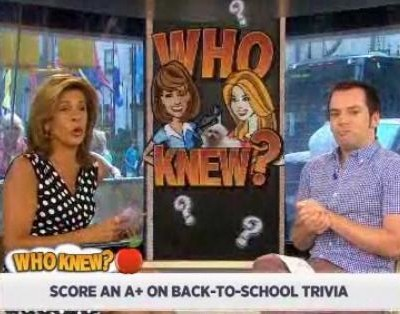 Kathie Lee and Hoda test you on your favorite back-to-school movies to see if you make the grade, including 21 Jump Street and Grease 2.