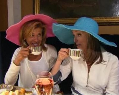 Kathie Lee & Hoda take a look into their London Olympics 2012 vacations with Hoda in London and Kathie Lee working on her musical Scandalous