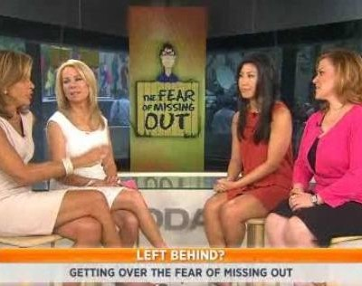 Kathie Lee Gifford & Hoda Kotb were joined by Joyce Chang and Jennifer Hartstein, who gave tips on getting past FOMO or Fear Of Missing Out
