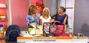 Kathie Lee and Hoda were joined by Trae Bodge as she shared the latest gear including Talkatoo Clip, Ugly Dolls and iSafe Backpack review.