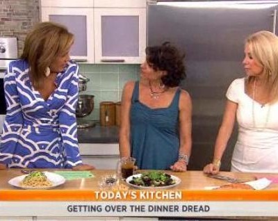 Kathie Lee and Hoda talked with Alma Schneider about overcoming dinner dread as she shared her Cold Sesame Peanut Noodles Recipe.
