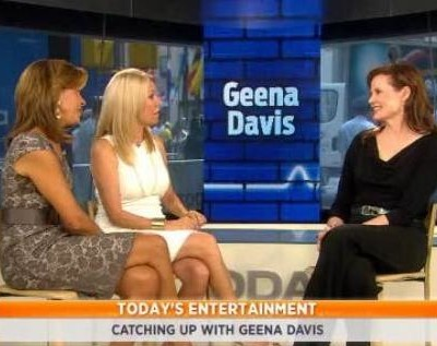 Kathie Lee & Hoda sat down with Geena Davis to talk about her new role in a two-part series called Coma on A&E & her role on Thelma & Louise