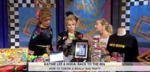 Jenn Falik joined Kathie Lee & Hoda to help with an 80s-themed bash, including Boom Box with iPod Dock &Joystick-It iPad Arcade Stick review