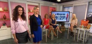 Zanna Roberts Rassi, Today Show Contributor, discussed office-appropriate looks, including makeup tips, Aldo shoes and Ann Taylor reviews.