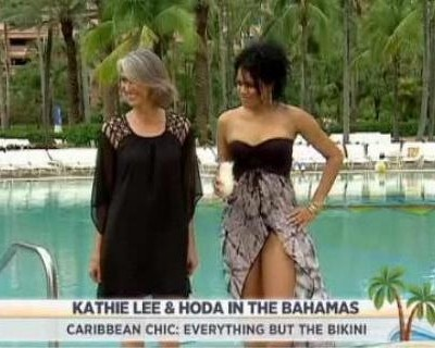 Kathie Lee & Hoda talked with Bobbie Thomas, who shared some Caribbean Chic looks, including BCBGeneration and Echo Design Coverup reviews.