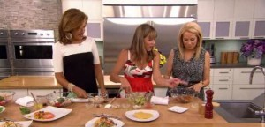 Kathie Lee & Hoda talked with Allison Fishman, Contributing Editor for Cooking Light, who shared White Bean and Roasted Chicken Salad recipe