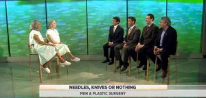 Kathie Lee & Hoda are joined by Dr. Ramtin Kassir & some patients to discuss plastic surgery for men, including rhinoplasty & chin implants.