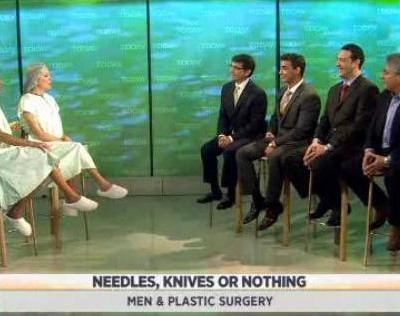 Kathie Lee & Hoda are joined by Dr. Ramtin Kassir & some patients to discuss men and plastic surgery, including rhinoplasty & chin implants.