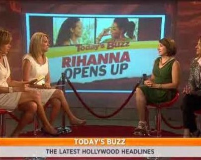 Bonnie Fuller and Roseanne Colletti discussed Today's Buzz, including Rihanna interview with Oprah and news on Ryan Lochte and Suri Cruise.