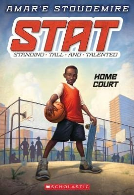 Amare Stoudemire's Kid's Book STAT Standing Tall & Talented Home Court