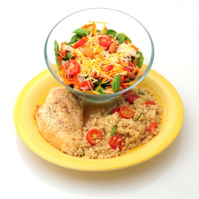 Dr Oz: Quinoa Meal Recipes, Stress Eating Cycle & Get More Fiber