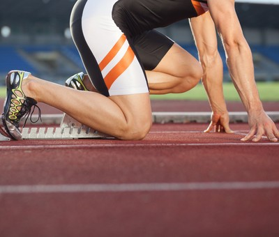 Carmelita Jeter & Usain Bolt: London Olympics 2012