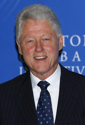 Former President Bill Clinton stopped by on Ellen August 28 2012 to ...