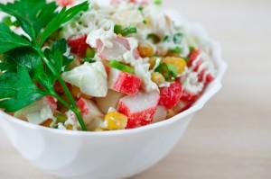 Today Show: Crab, Corn & Tomato Salad with Lemon-Basil Dressing Recipe