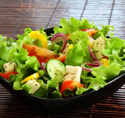 Today Show: Green Salad with Nuts, Seeds & Maple Soy Dressing recipe
