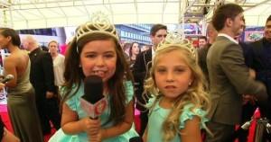 Ellen: Sophia Grace & Rosie Win Teen Choice Award & Red Carpet at VMAs